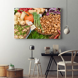 Canvas Wall Art Framer's Market Kitchen Art 4 Sizes To Choose From-And He Cooks