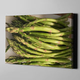 Canvas Wall Art Asparagus Kitchen Art 4 Sizes To Choose From-And He Cooks