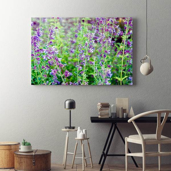 Canvas Wall Art Wildflowers Kitchen Art 4 Sizes To Chose From-And He Cooks