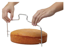 Baking Wire Cake Cutter-And He Cooks