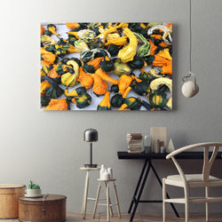 Canvas Wall Art Squash Kitchen Art 4 Sizes To Chose From-And He Cooks