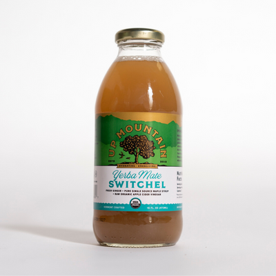 Yerba Maté Switchel 16oz