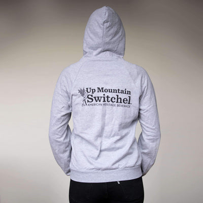Switchel Gray Zip Up Hoodie