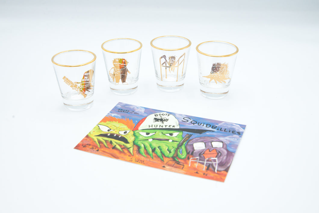 Squidbillies Shotglass Set