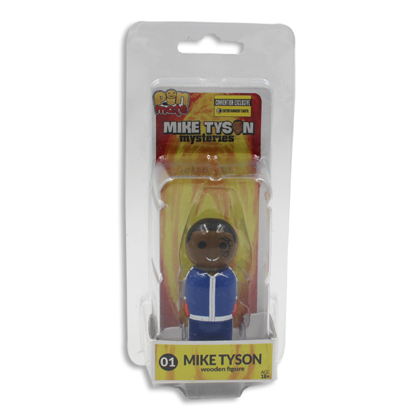 Mike Tyson Mysteries Wooden Figurine