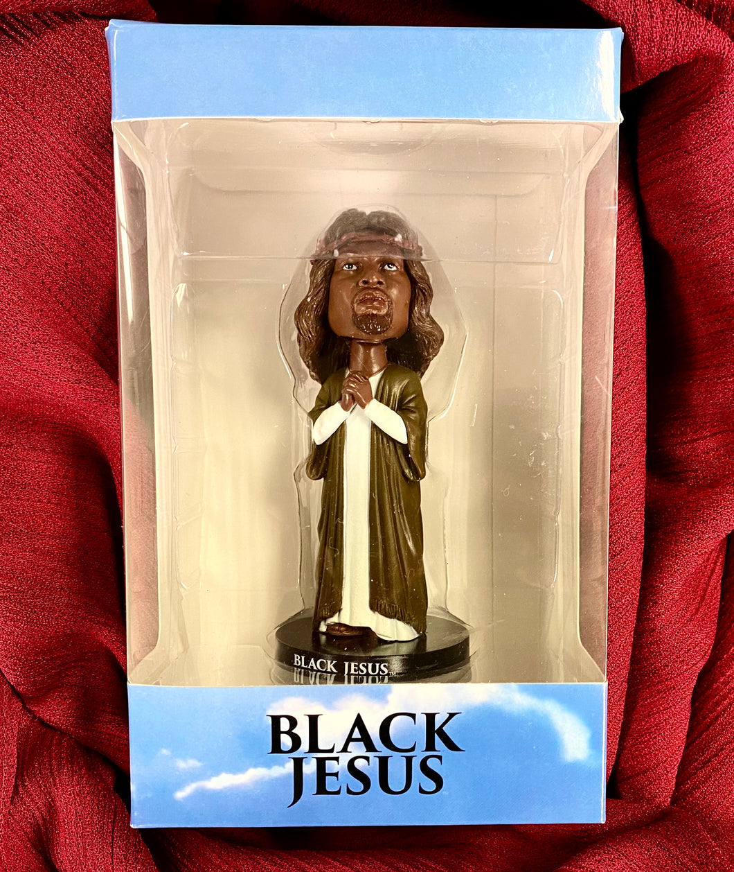 Black Jesus Bobble Head