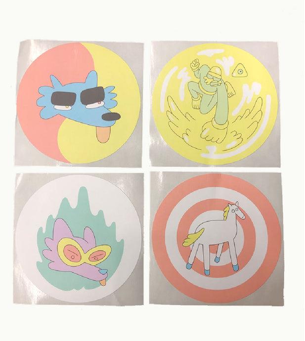 Lazor Wulf Sticker Pack w/ FREE Off the Air Vinyl