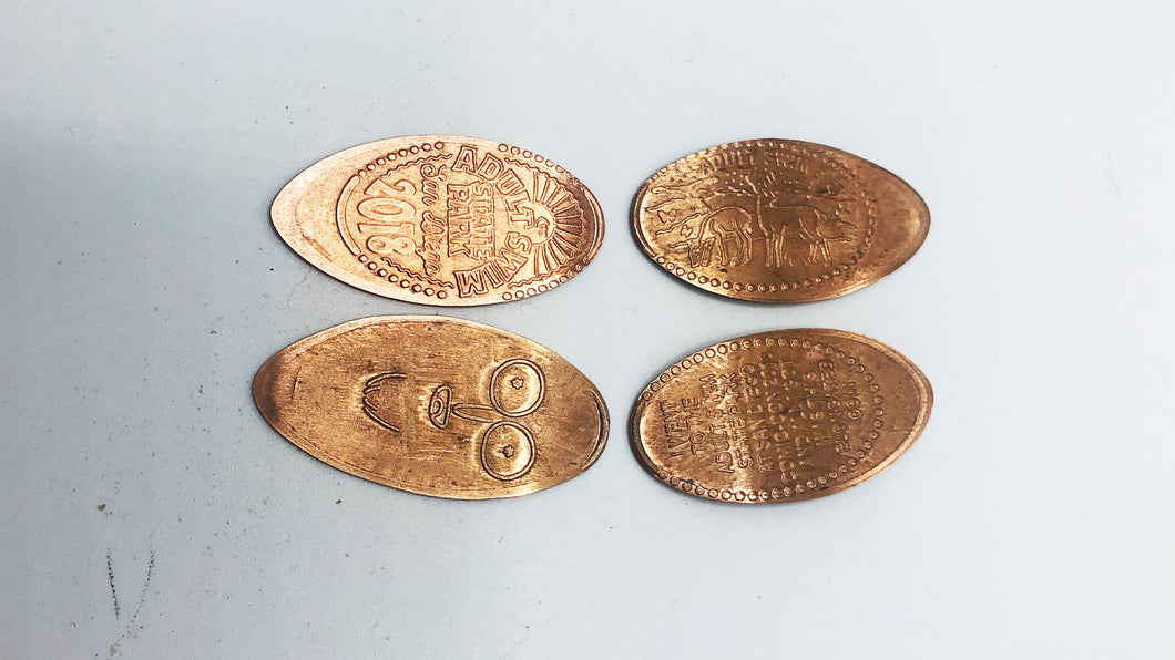Adult Swim Pressed Pennies