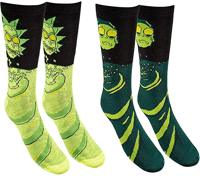 Rick and Morty Sock Pack