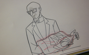 Venture Bros. Animation Cel