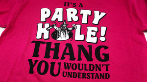 YPF Party Hole T-shirt