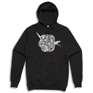 Snake Hooded Sweatshirt