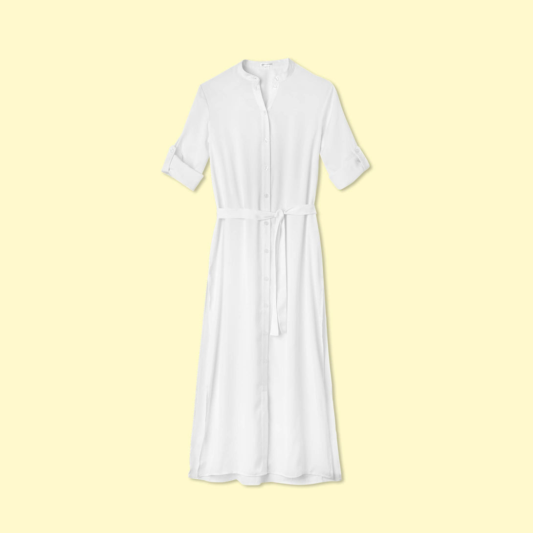 The Effortless Shirtdress Cover-Up