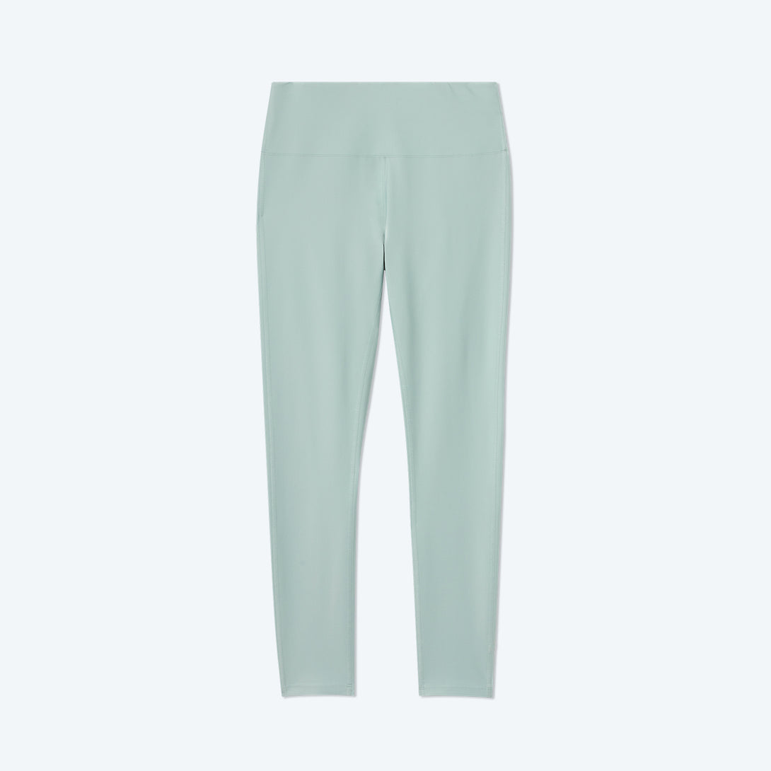 The Do-It-All High Rise 7/ 8 Leggings - Sage