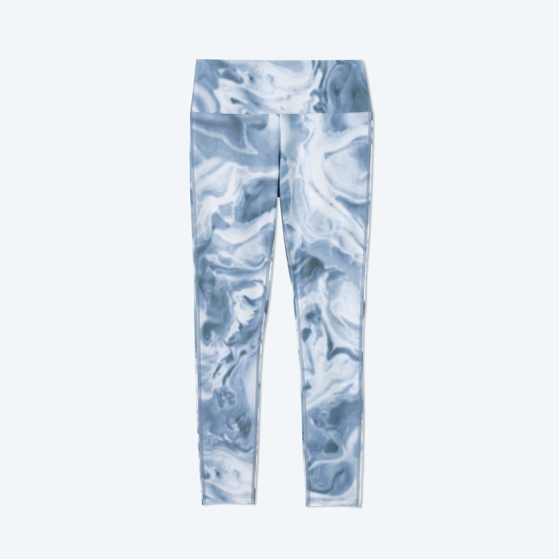 The Do-It-All High Rise 7/ 8 Leggings - Slate Marble
