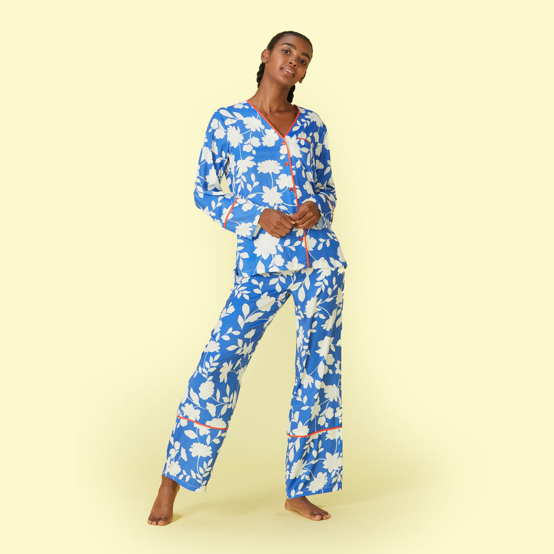 The Cloud 9 Silky PJ Set Jordan