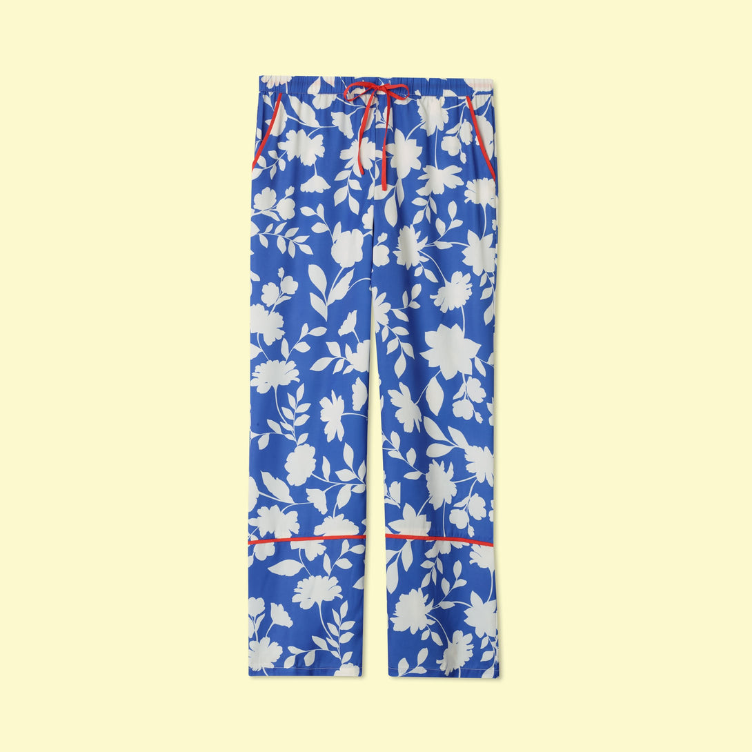 The Cloud 9 Silky PJ Set Graphic Floral