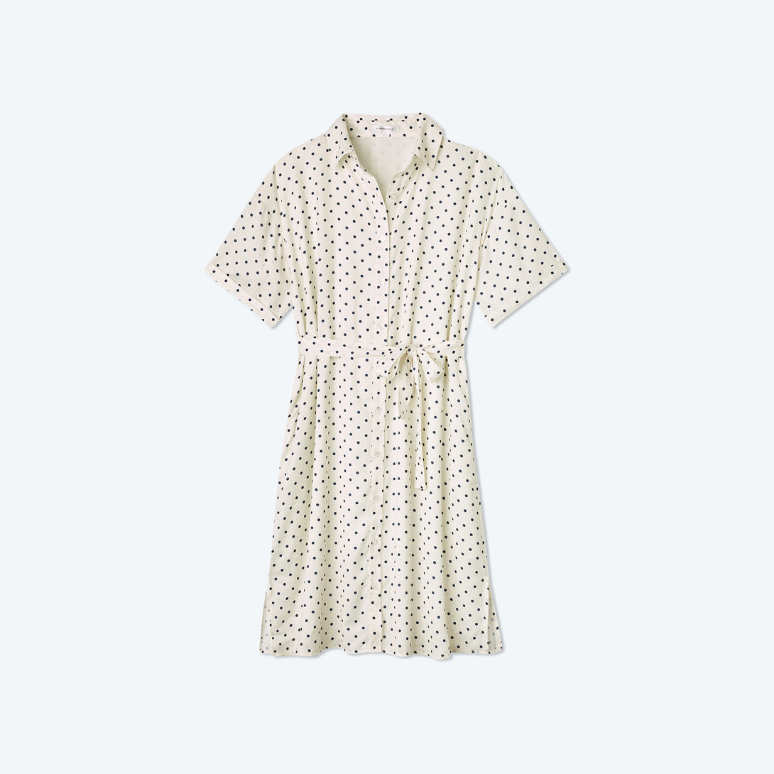 The Do-It-All Shirtdress - Damsel Dot