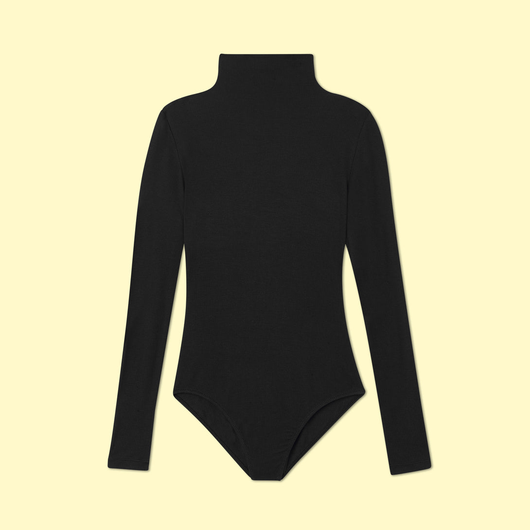 The Long Sleeve Day to Night Bodysuit - Sea Urchin
