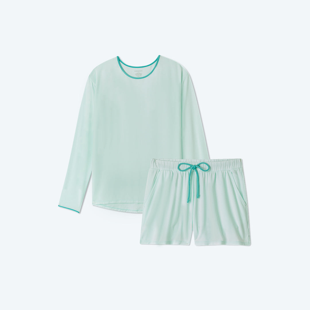 The All Day & Night Shorts Set - Mint