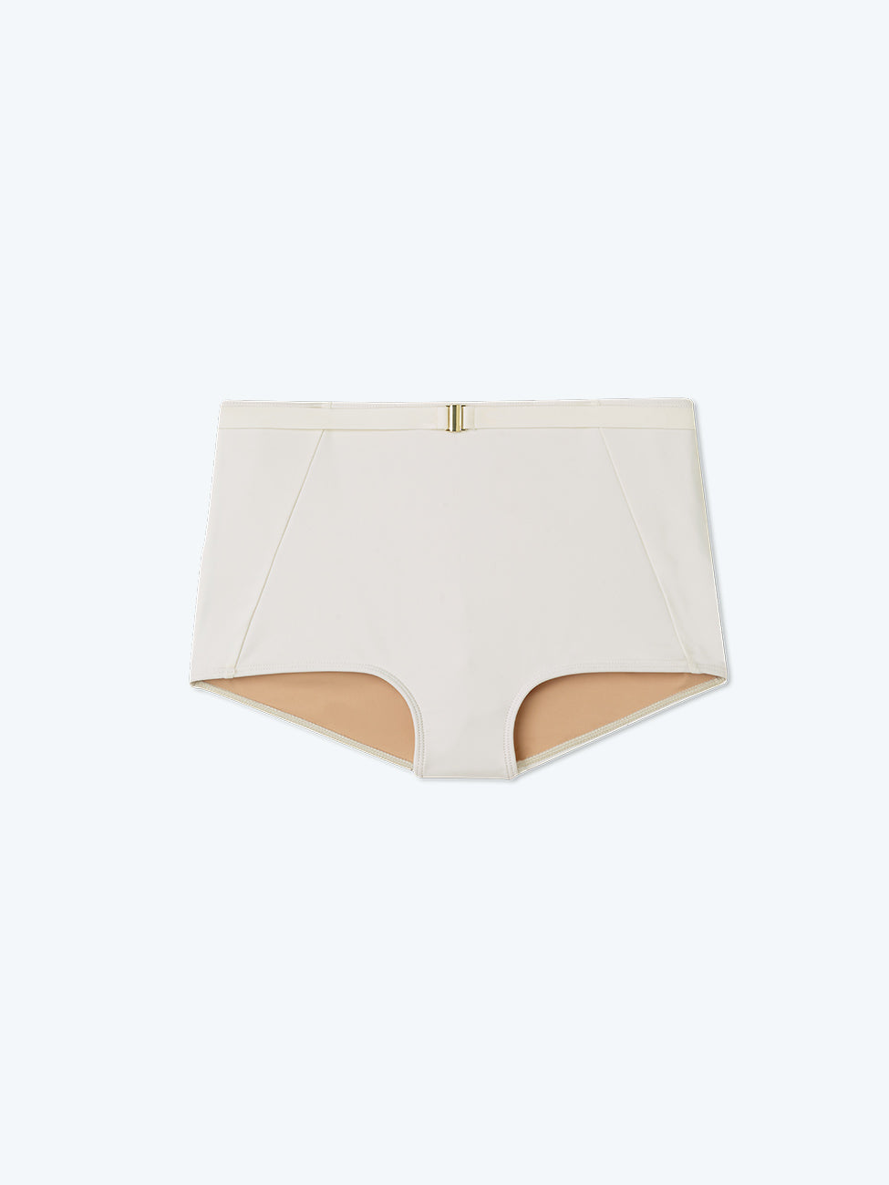 The Belted Classic High Rise - White Sand