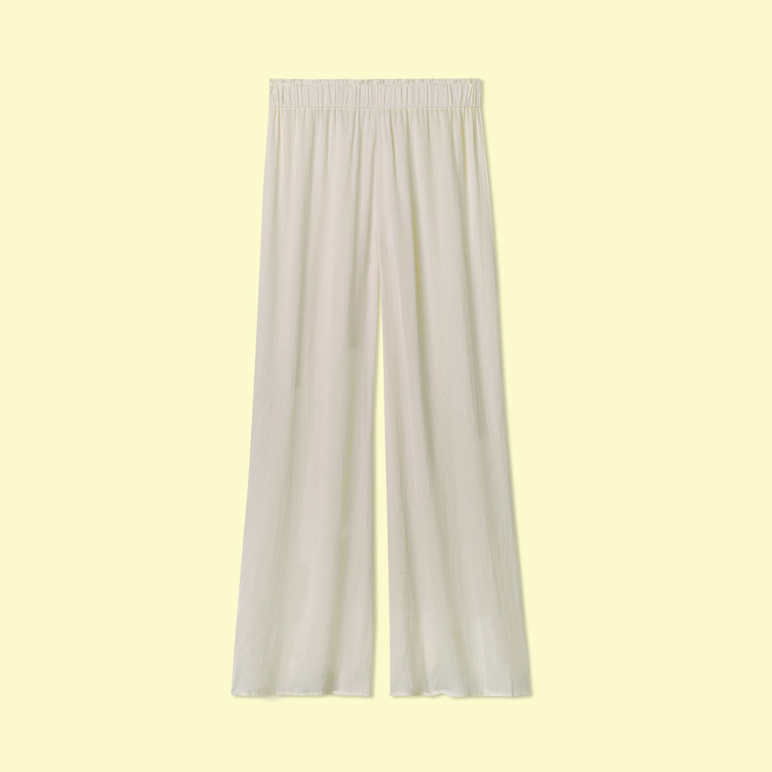 The Palazzo Pant White Sand
