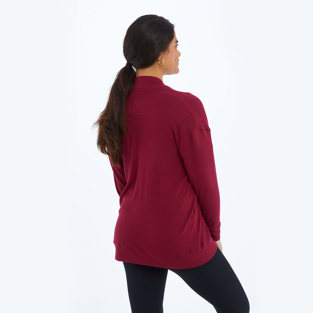 The Softest Ribbed Cardigan - Pinot