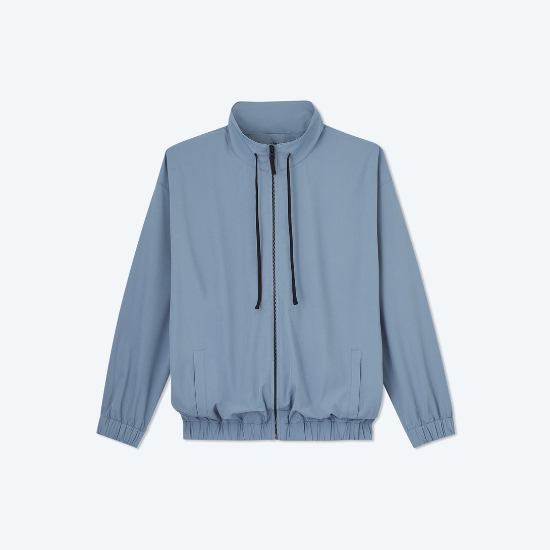 The On-The-Go Zip-Up Jacket - Slate