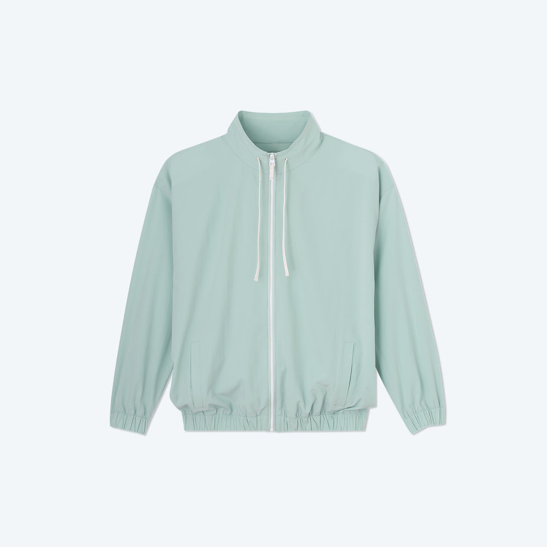 The On-The-Go Zip-Up Jacket - Sage
