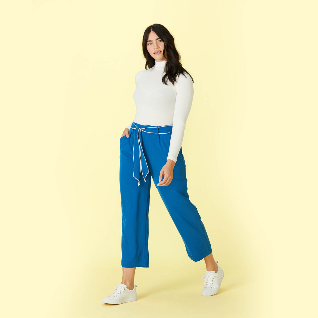 The Packable Everyday Pant Sea Marine Ashley