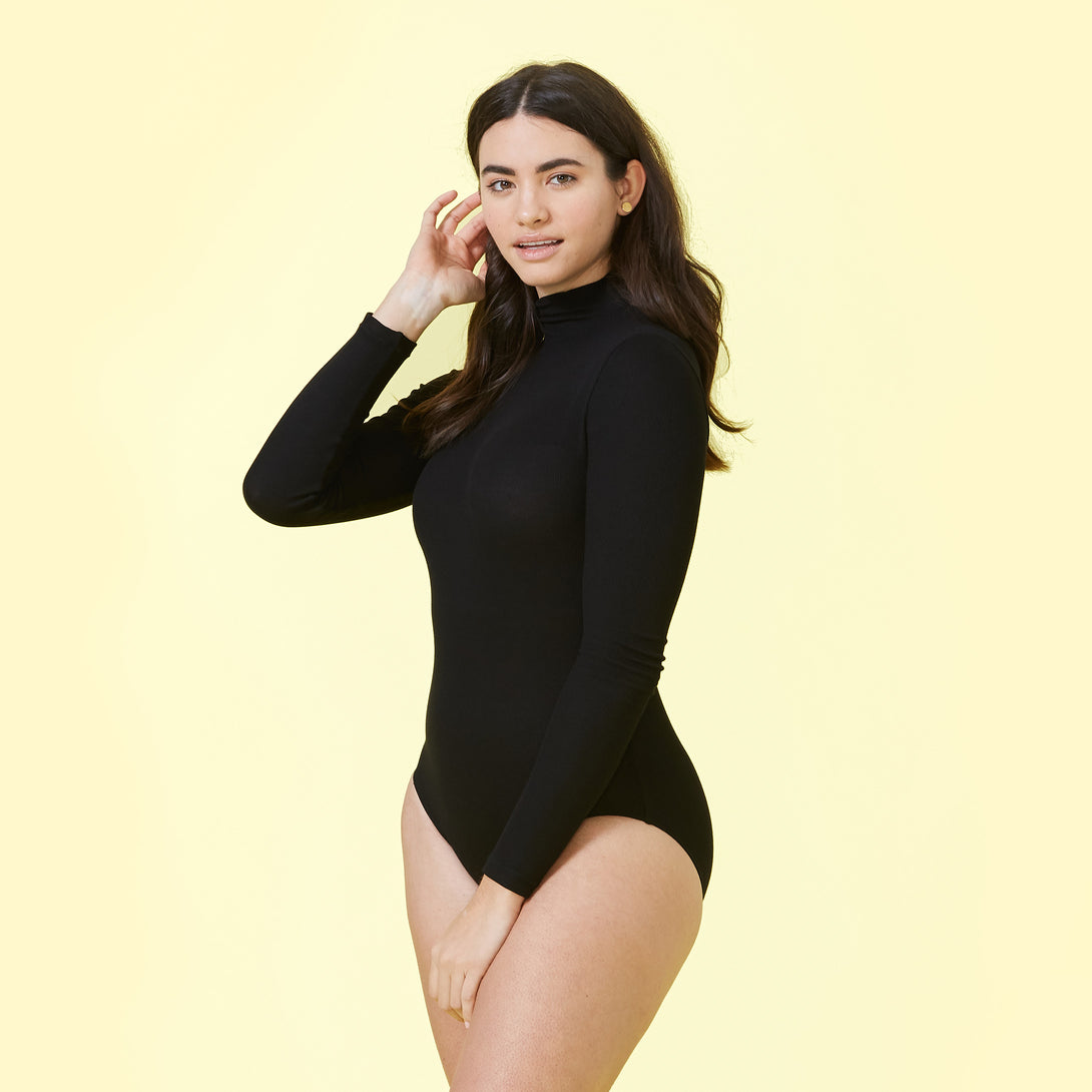 Image of The Long Sleeve Day to Night Bodysuit Ashley