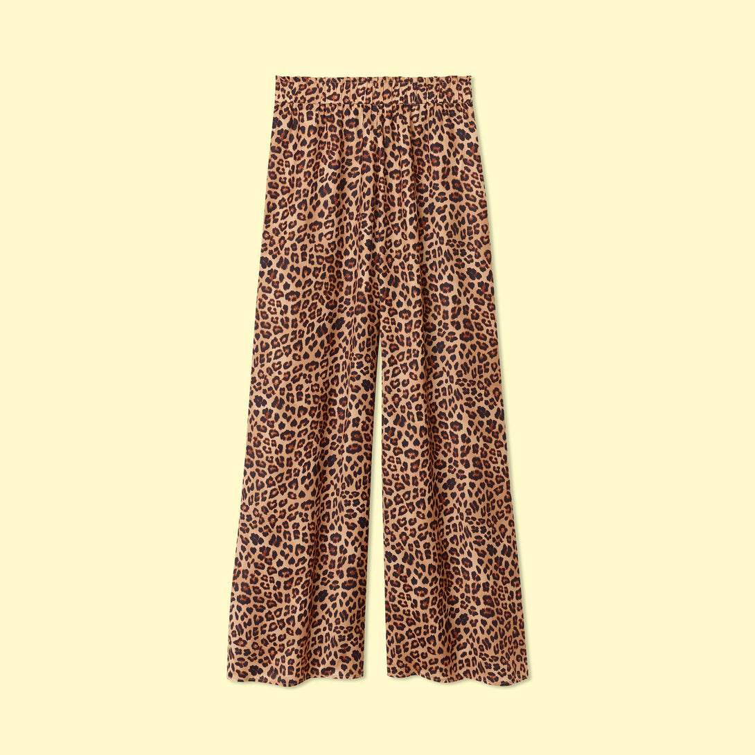 The Perfect Palazzo Pant - Leopard