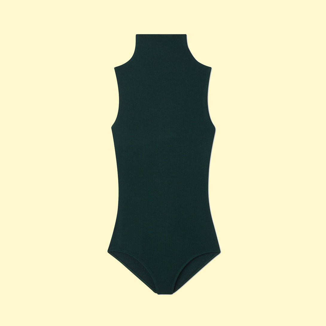 Image of The Sleeveless Day to Night Bodysuit