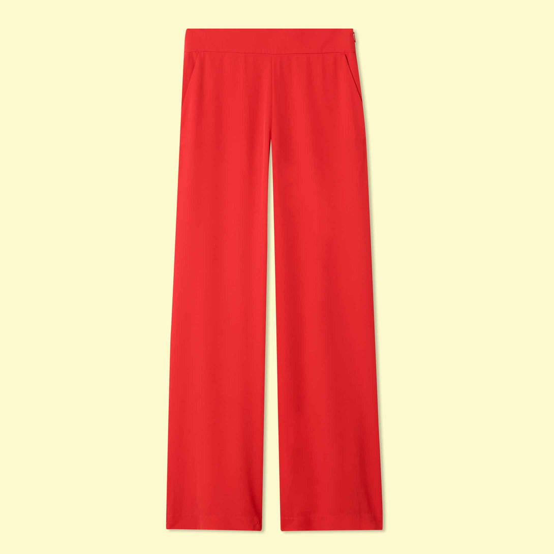 The Perfect Wide Leg Pant Lava