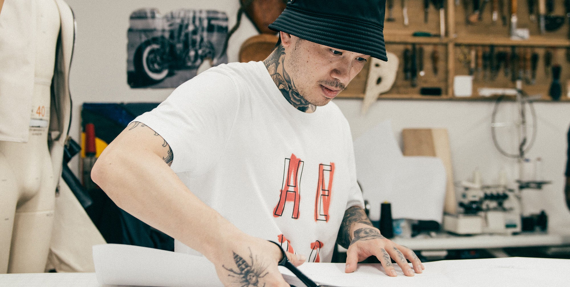 New York Designer Kenneth Ning for A Day in The Life Series - ONS Clothing Urban Transplants