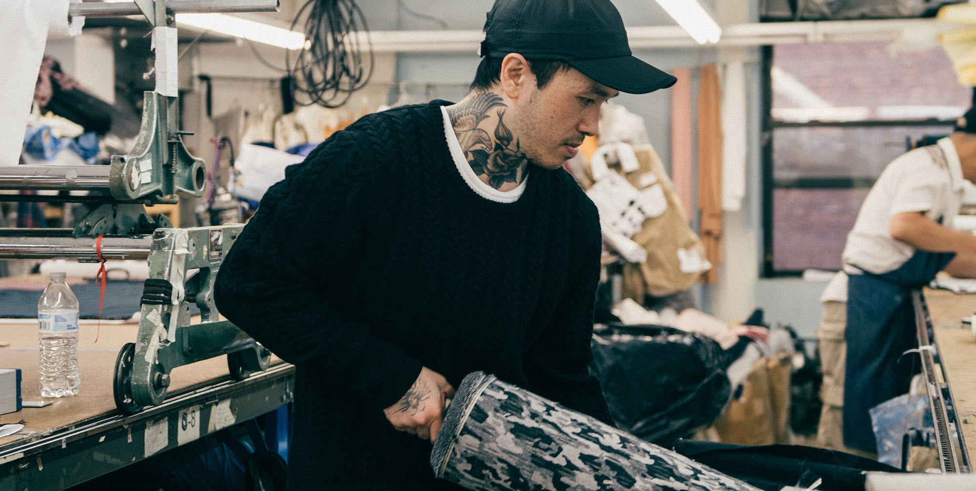 New York Designer Kenneth Ning for A Day in The Life Series - ONS Clothing Urban Transplants.