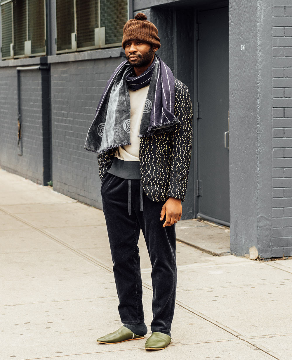 New York based African Designer Niyi Okuboyejo from Post Imperial for A Day in The Life Series - ONS Clothing Urban Transplants