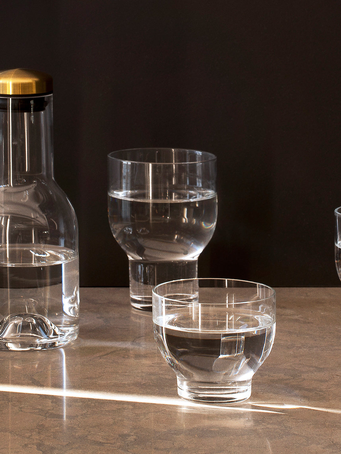 CLEAR / 6 OZ Menu Stackable Glass Home and Kitchen