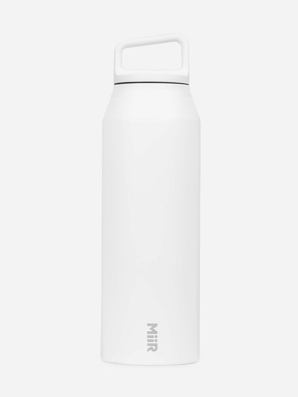 WHITE VI wide mouth 42oz bottle Miir