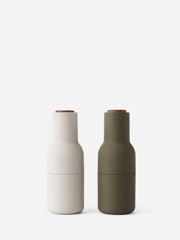 HUNTING GREEN/ BEIGE bottle grinder by MENU