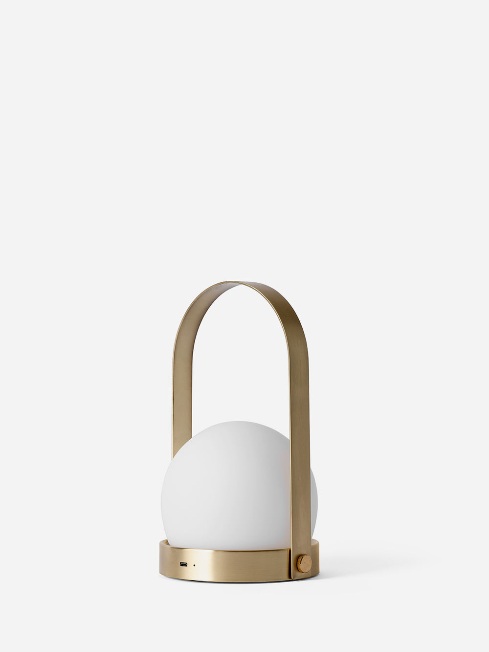 BRUSHED BRASS Carrie LED Lamp Menu
