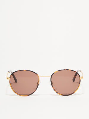 GOLD HAVANA WALSH Sunglasses by Article One