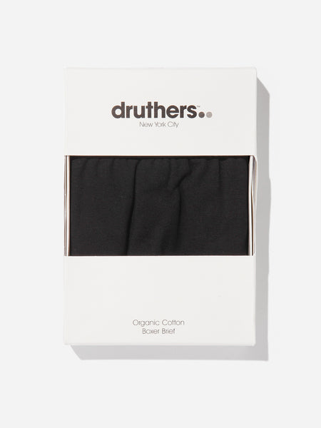 BLACK boxer brief by druthers