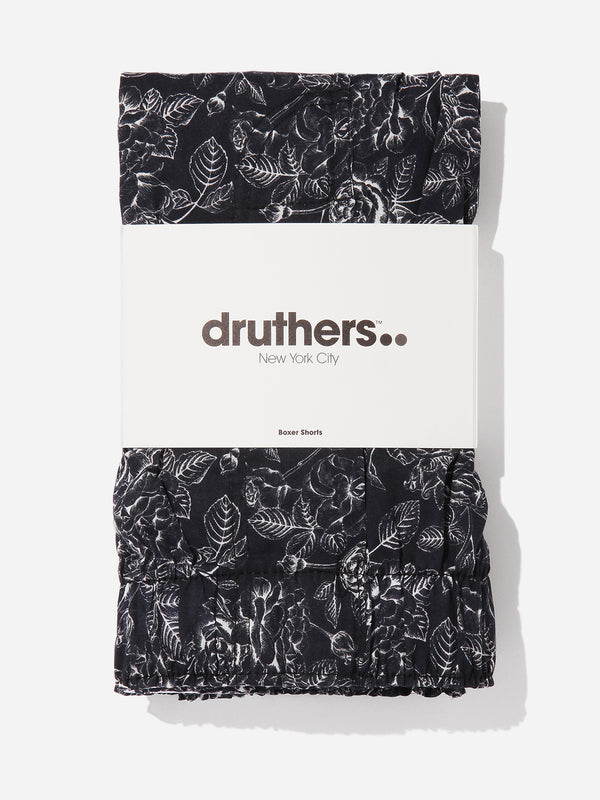 ons mens clothing druthers boxers in BLACK
