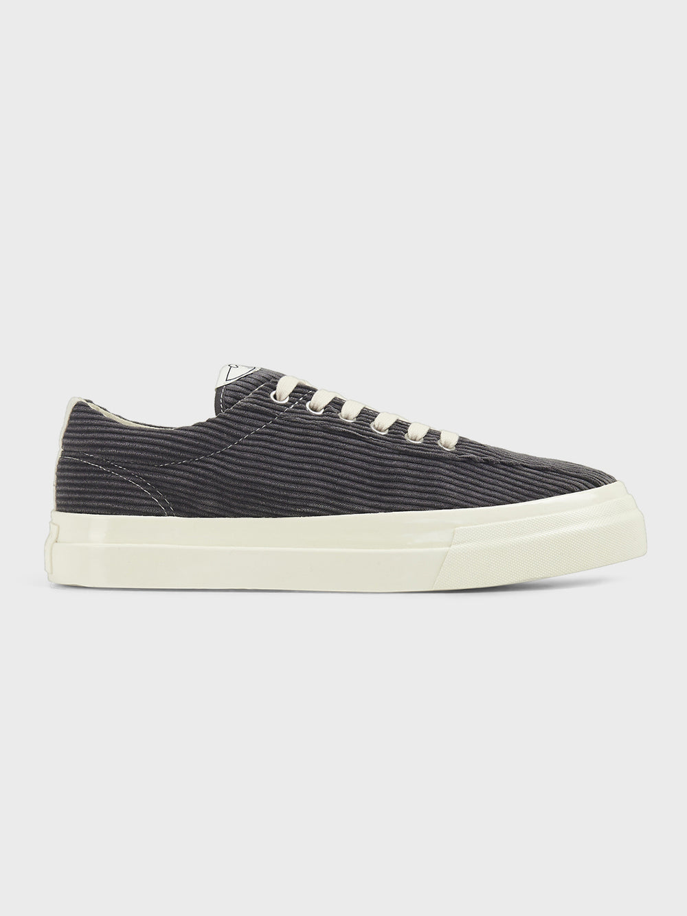 stepney workers club dellow cord sneaker shoe GREY