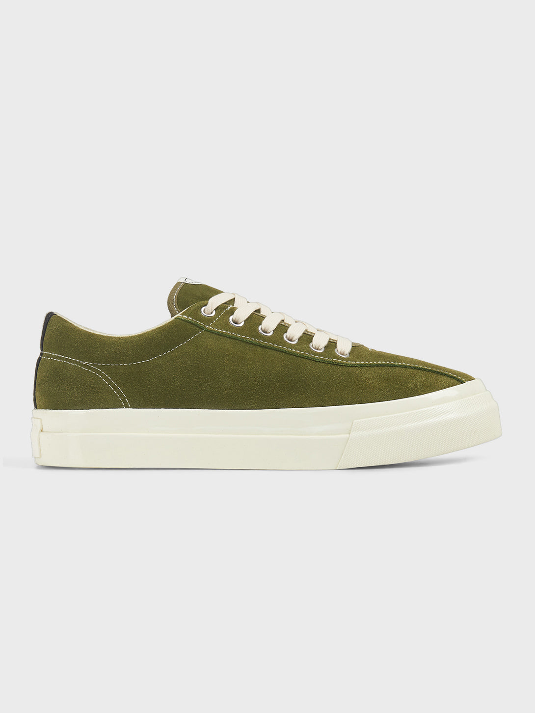 stepney workers club suede shoes sneakers MILITARY