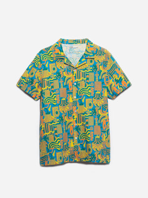 ons men's garage shirt MULTI