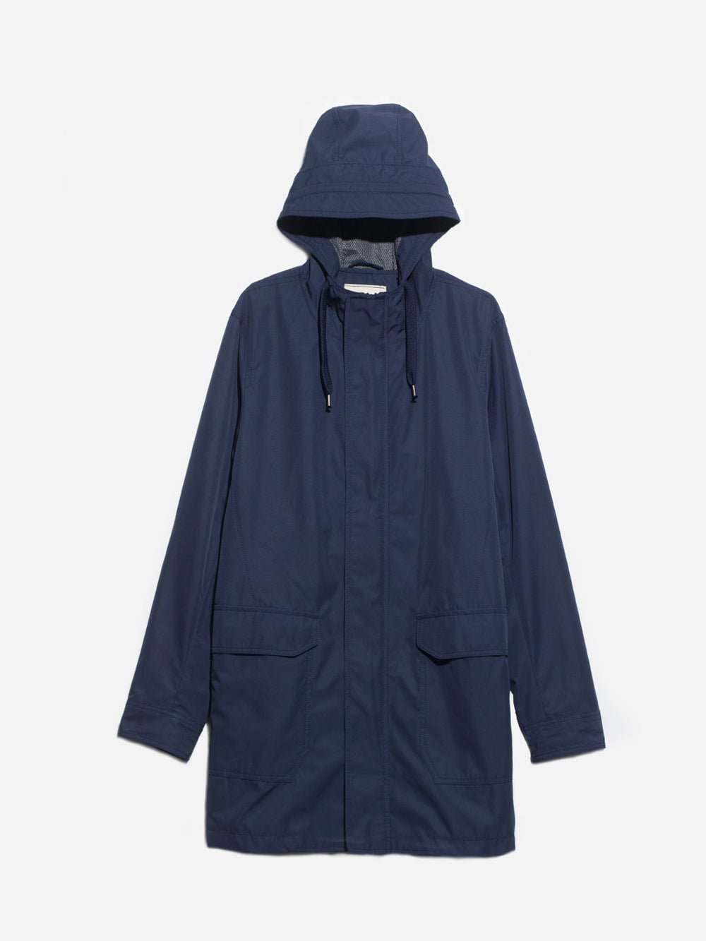 NAVY HOODED PARKER