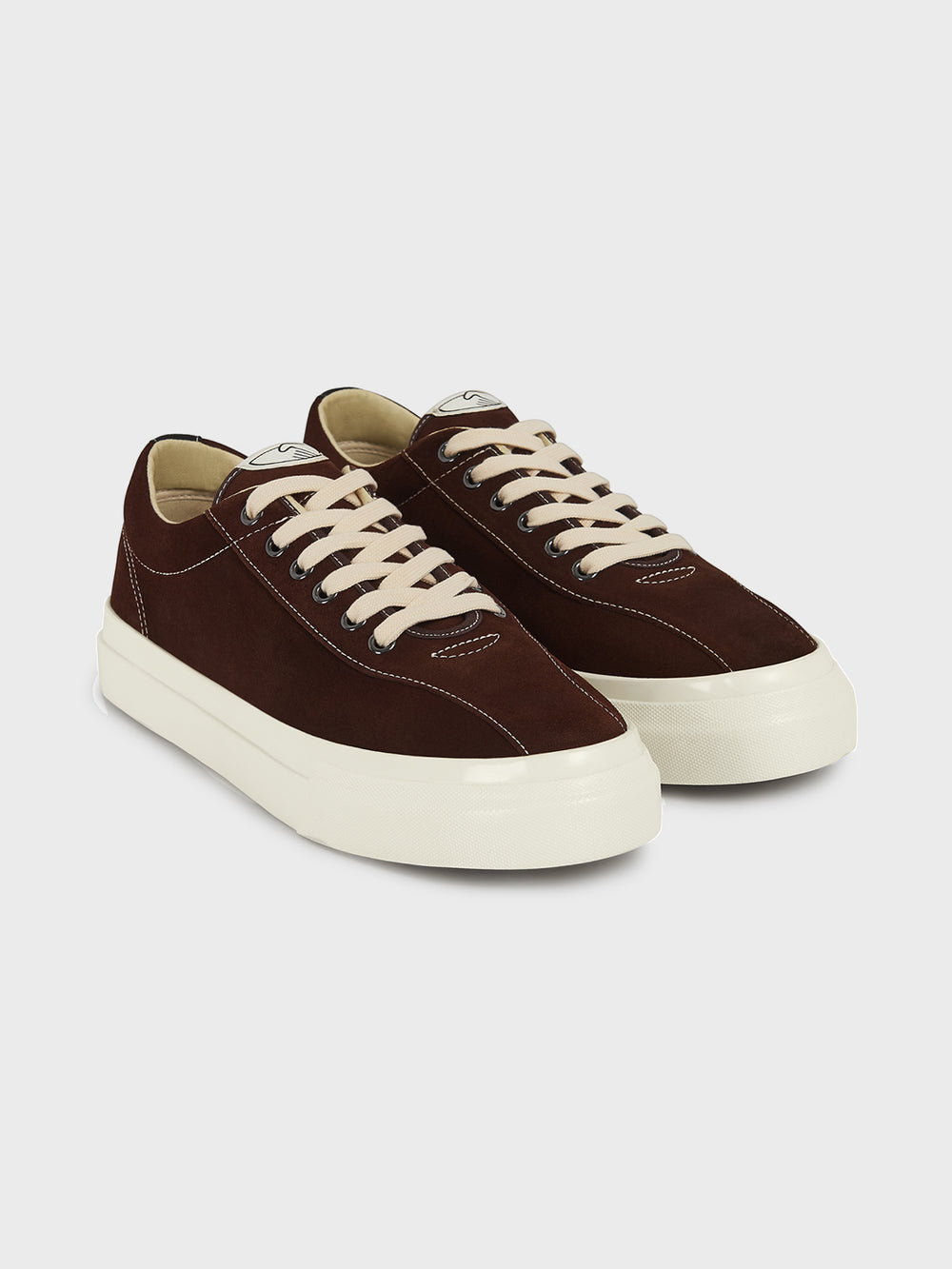 stepney workers club suede shoes sneakers CHOCOLATE