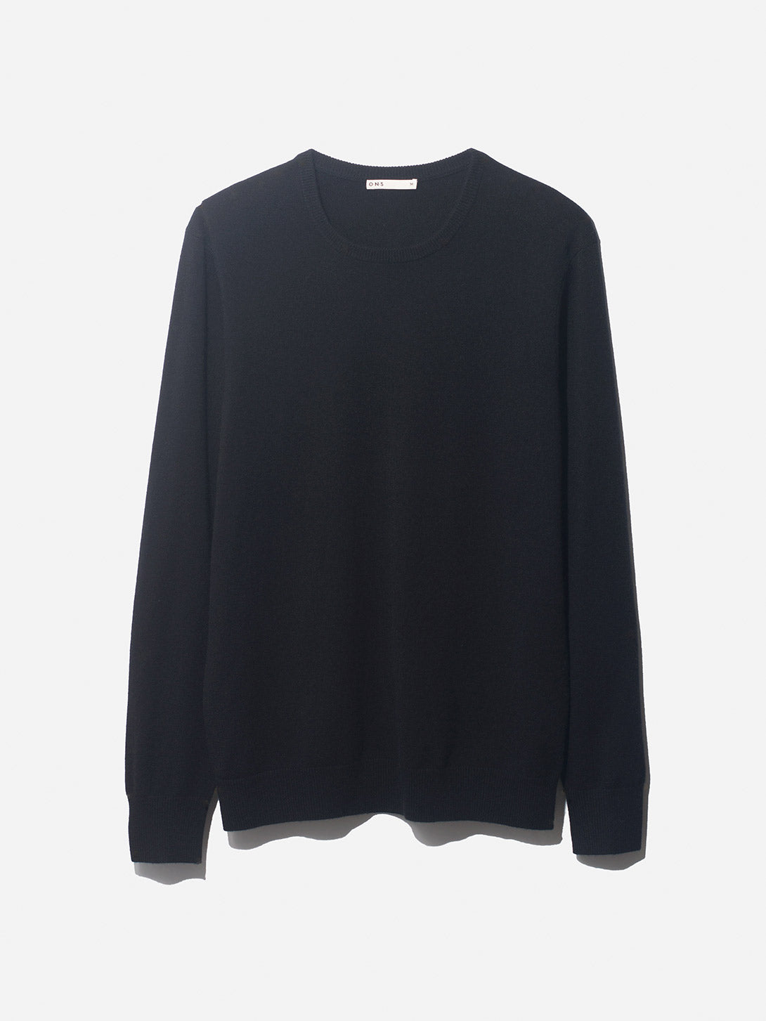 IVY SWEATER ONS CLOTHING BLACK
